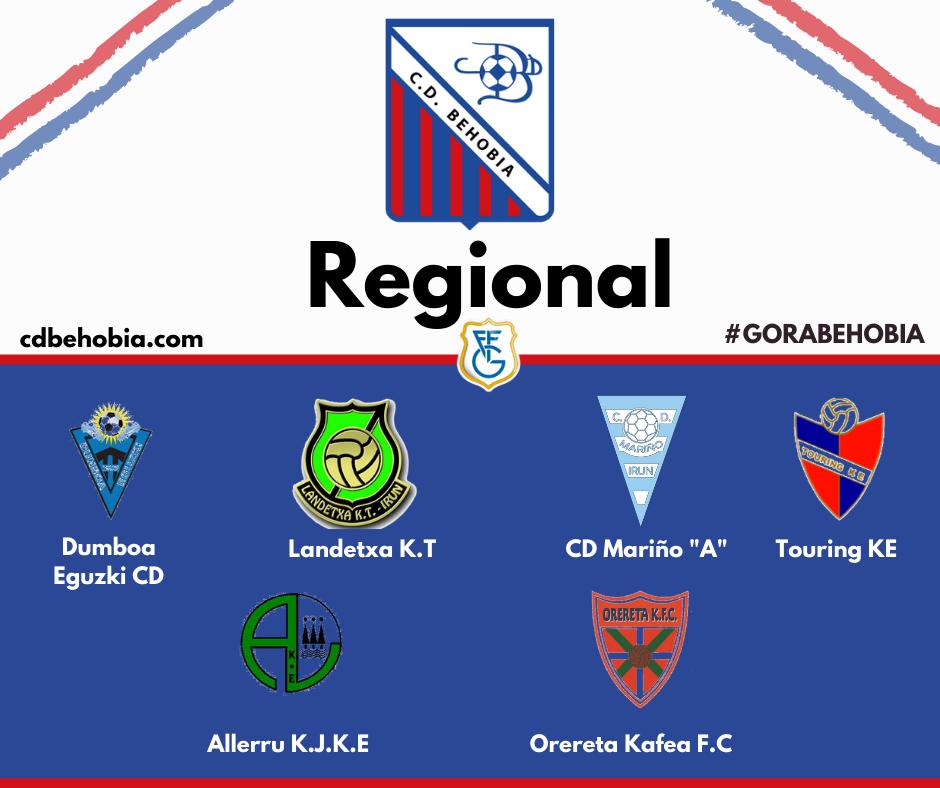 Grupo behobia regional 20-21
