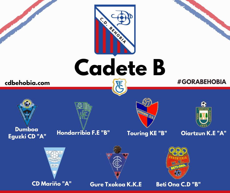 Grupo Cadete B Behobia Irun temporada 20-21